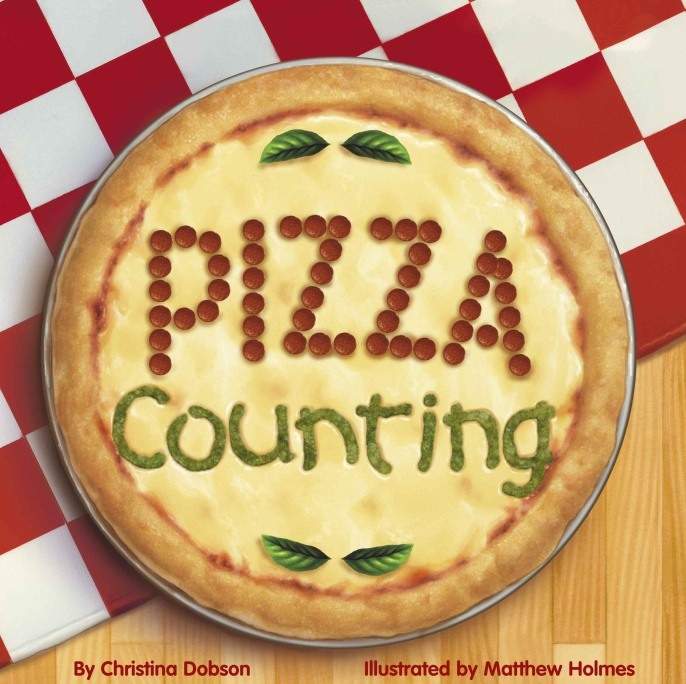 Pizza Counting book cover